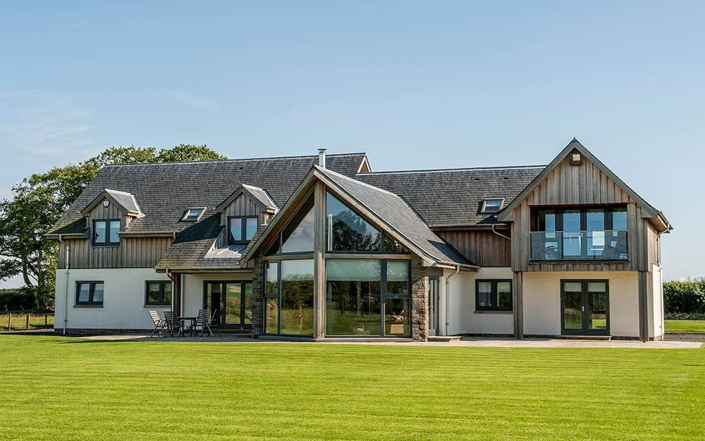 Stone, Glass and Timber Cladding