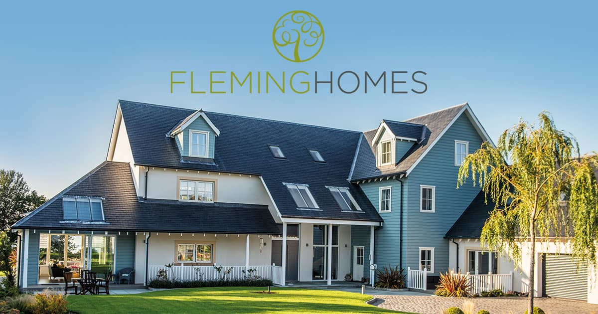 Timber frame fleming homes specialists in self build for Kit build homes