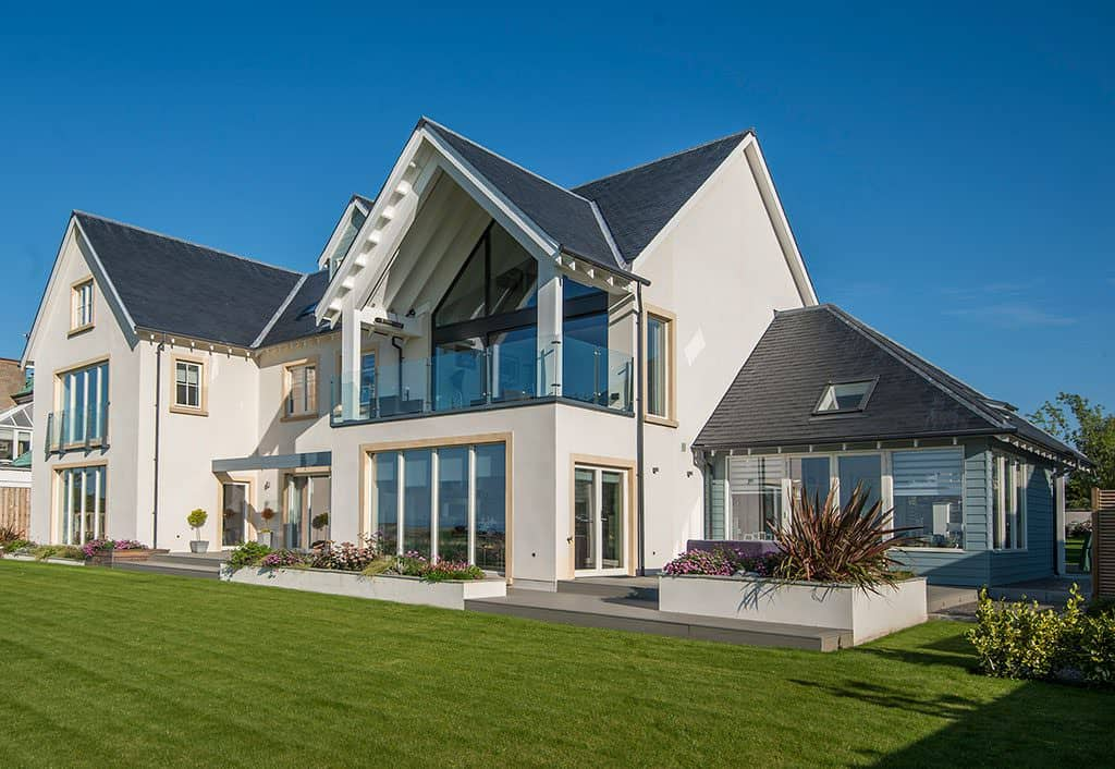 Modern Design Featuring Expansive Glazing