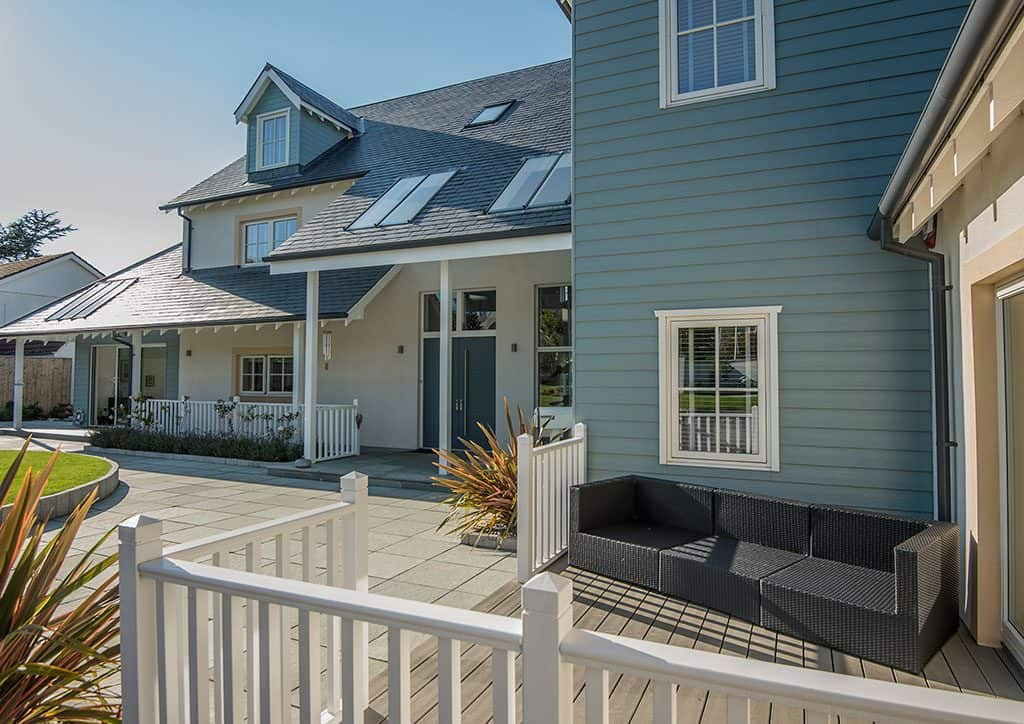 New England Style Timber Frame