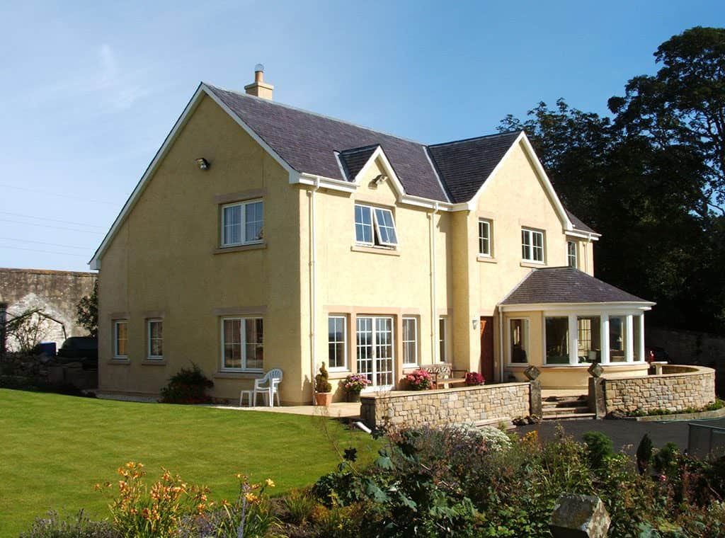Traditional Two Storey Timber Frame
