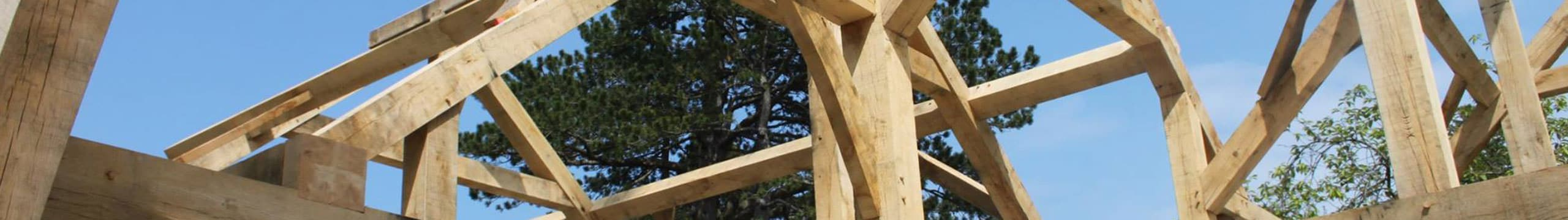 timber frame erection