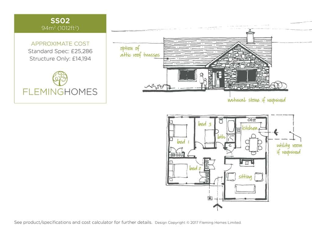 single storey design styles fleming homes timber frame specialists