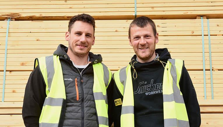 Alex Renton and Gary Napier