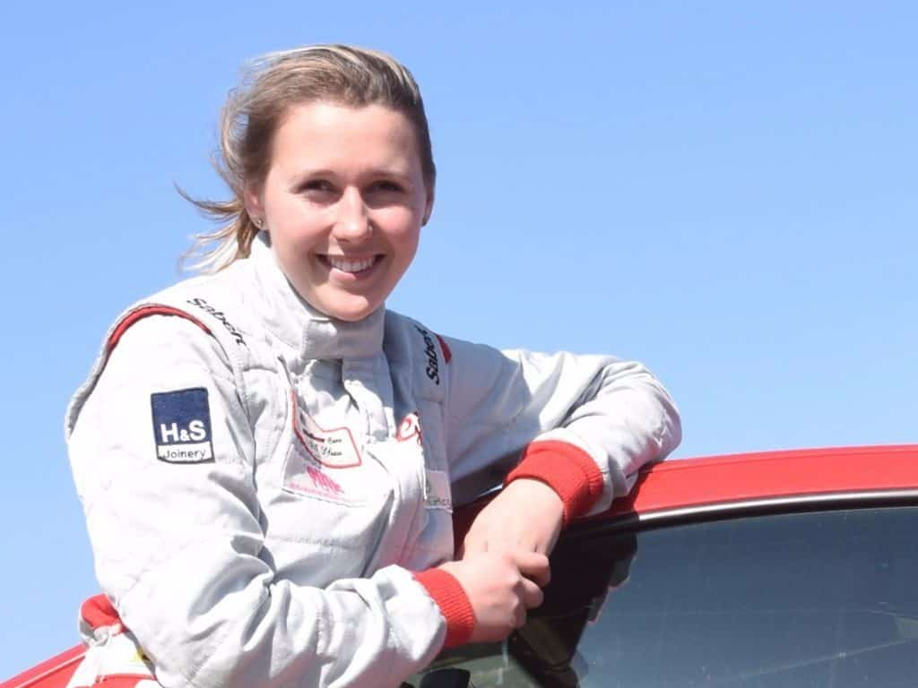Rally Driver Gina Walker