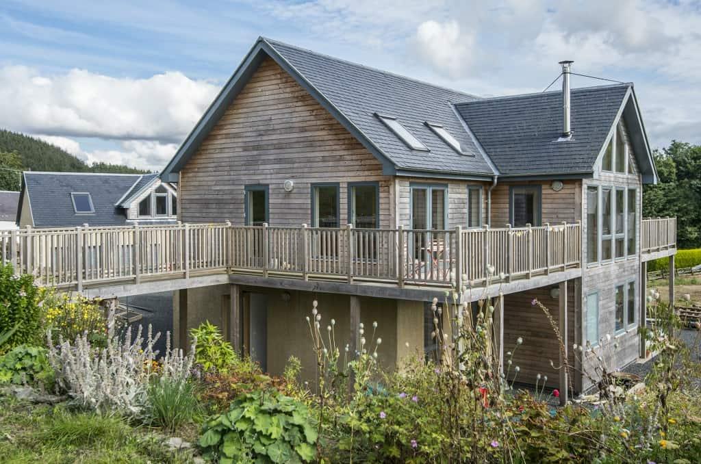 Fleming Homes Lilliesleaf timber frame home