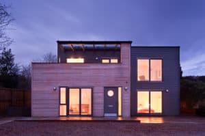 Self Build Timber Frame Home