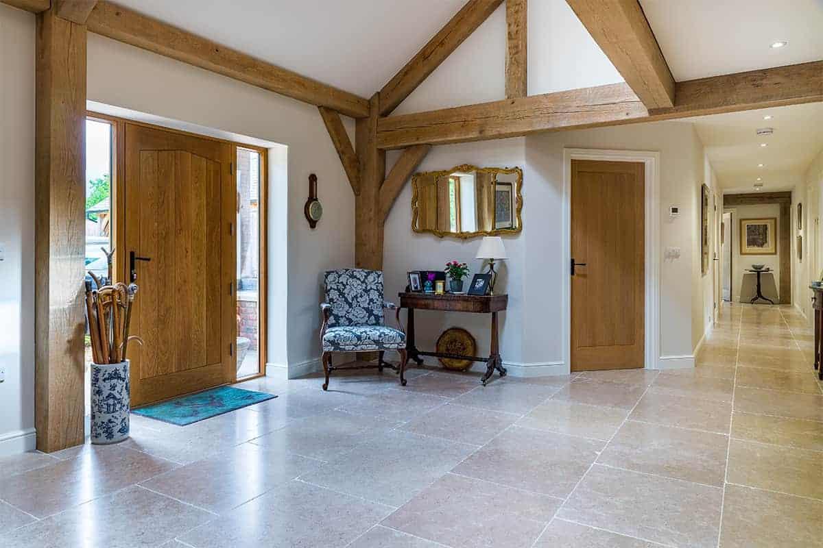 Oak Frame Home Entrance Hallway