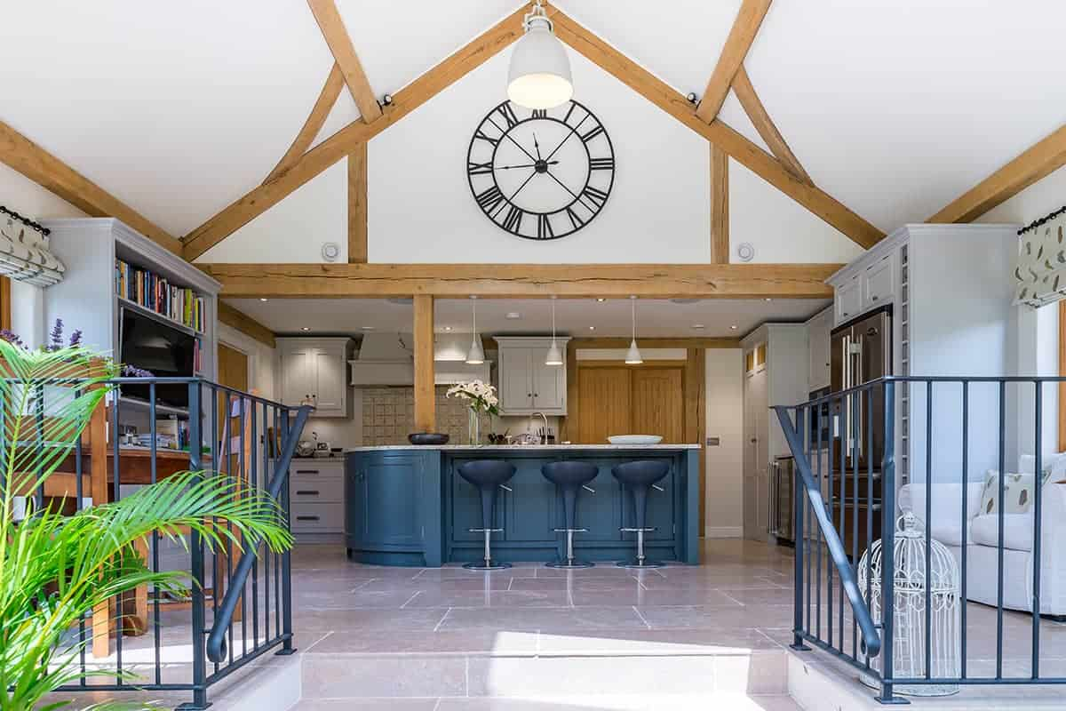 Oak Frame Home Kitchen