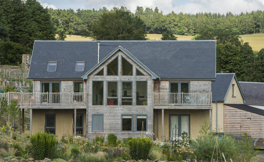 Timber Clad and Render Selfbuild